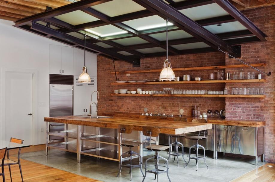 04 stainless-steel-kitchen-industrial-wood-brick