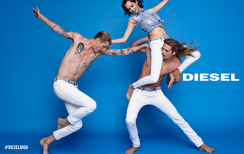 Diesel-White-Denim-SS15-Campaign