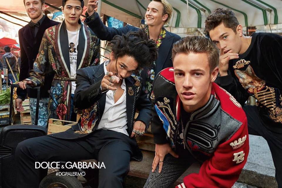 59ac2238 Instead D&G models run rampant through the sidewalks and markets of the  Italian town Palermo for the new Dolce & Gabbana Fall 2017 campaign.